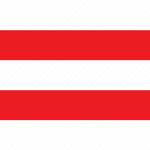 austria, country, flag, nationality, oostenrijk icon