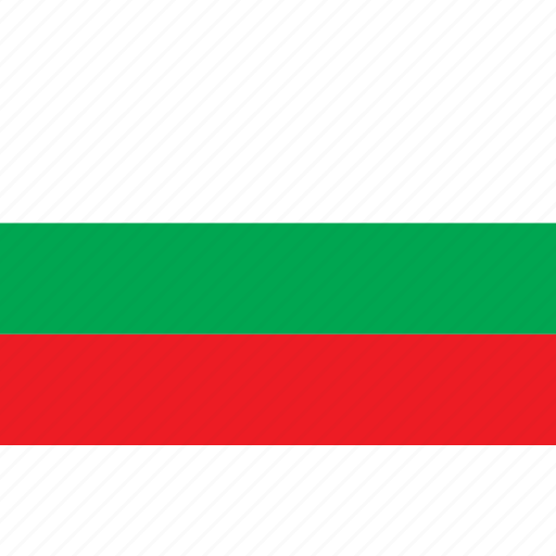 bulgaria, bulgarije, country, flag, nationality icon