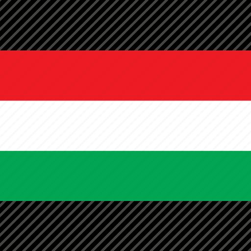 country, flag, hongarije, hungary, nationality icon