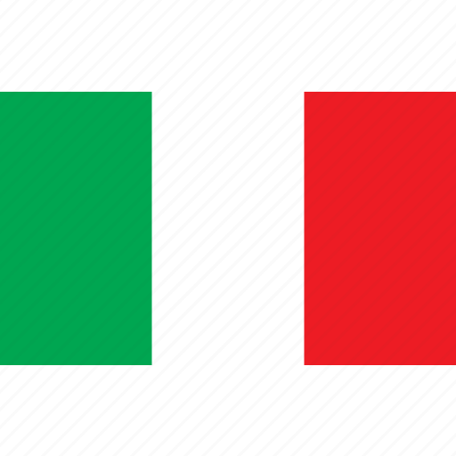 country, flag, italie, italy, nationality icon