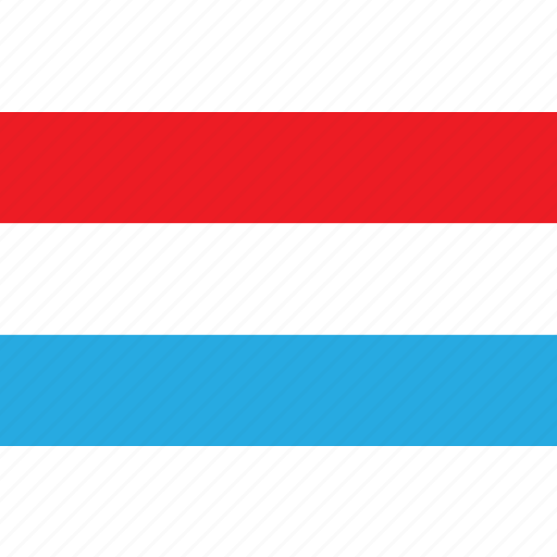 country, flag, luxembourg, luxemburg, nationality icon