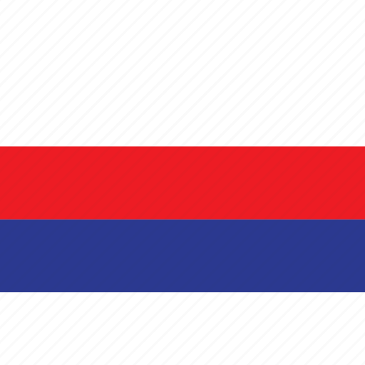 country, flag, nationality, rusland, russia icon