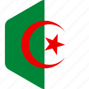 african, algeria, algerian, country, flag, flags, national icon