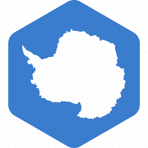 antarctica, country, flag, national, world icon