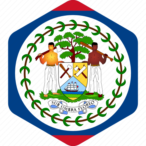 america, american, belize, central, country, flag, flags icon