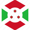 burundi, country, flag, flags, national, world icon