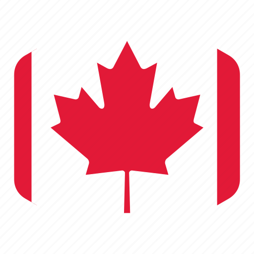 american, canada, country, flag, flags, north icon