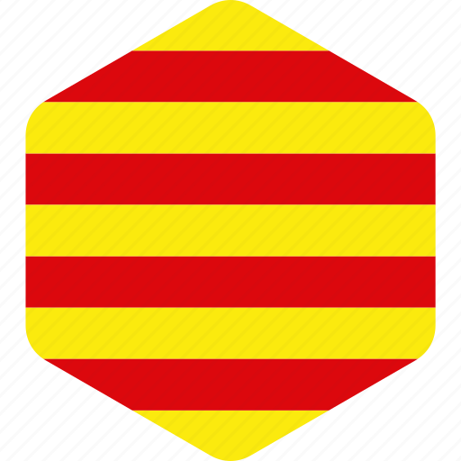 catalonia, country, flag, flags, national, north eastern icon