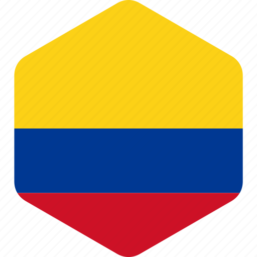 america, american, colombia, country, flag, flags, national icon