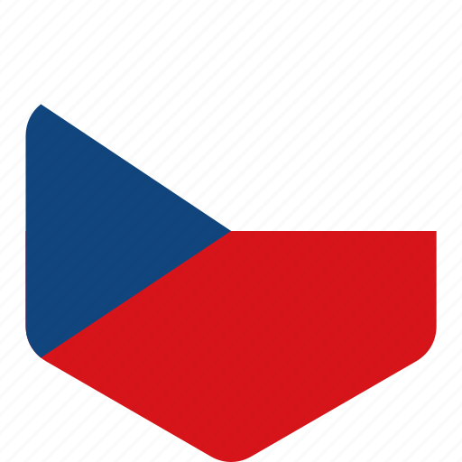 country, czech, european, flag, flags, national, republic icon