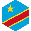 congo, country, democratic, national, of, republic, the icon
