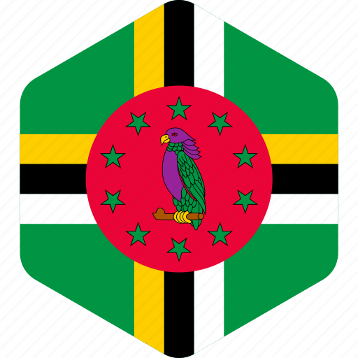 country, dominica, flag, flags, national, republic, world icon