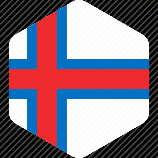 country, faroe, flag, flags, island, islands, national icon