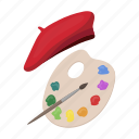 art, artist, attribute, brush, painting, palette, takes