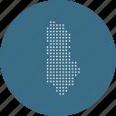 albania, albanian, country, locatio, map, naviagtion icon