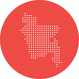 asian, bangla, bangladesh, location, map, navigation icon