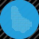barbados, caribbean, country, location, map, navigation icon