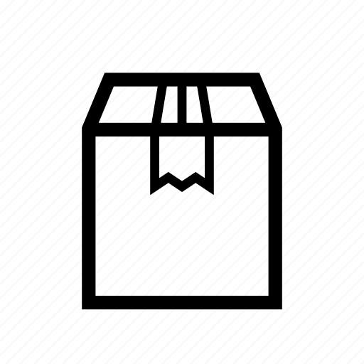 box, cartboard, courier, packet, parcel icon
