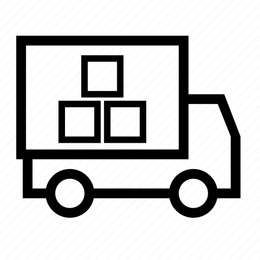courier, delivery, delivery service, shipment, shipping, transport icon