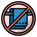 towel, cotton, bathroom, shower, virus transmission, do not share personal item icon