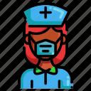 coronavirus, covid-19, doctor, mask, medical mask, nurse, woman