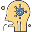 corona, coronavirus, patient icon