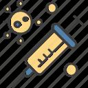 corona, syringe, vaccine, virus