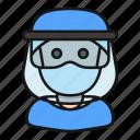 avatar, health, mask, medic, profession, protection, surgeon