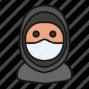 arab, avatar, islam, mask, muslim, people, woman