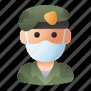 army, avatar, mask, militar, profession, soldier