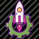 accelerator, launch, program, rocket