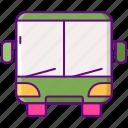 bus, public, transportation, vehicle