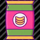 chips, food, junkfood, snack