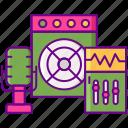 equipment, mixer, recording, sound