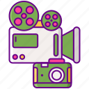 camera, equipment, recording, video