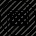blueprint, crafting, design, development, notice, paper icon