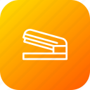 attach, clip, fastnen, paper, pin, stapler, stationary icon