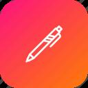 crafting, edit, pen, stationary, study, write icon