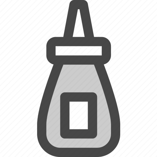 adhesive, bottle, container, crafts, diy, glue icon