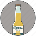 alcohol, bar, beer bottle, bottle of beer, drink, drinks icon