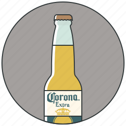 alcohol, bar, beer bottle, bottle of beer, drink, drinks icon