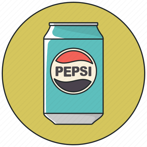 beverage, can, drink, drinks, pepsi, pepsi cola, soda icon