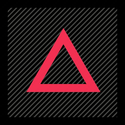 angle, arrow, up icon