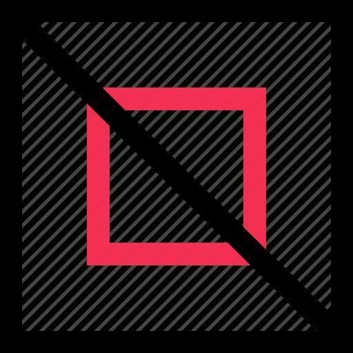 creative, denied, process icon