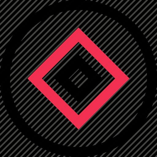 cube, eye, goal, target icon