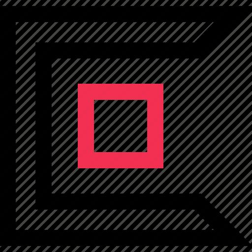 design, edge, sharp icon
