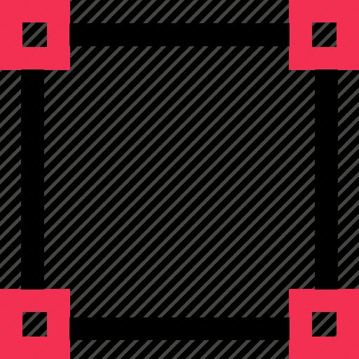 creative, design, edit, sides icon