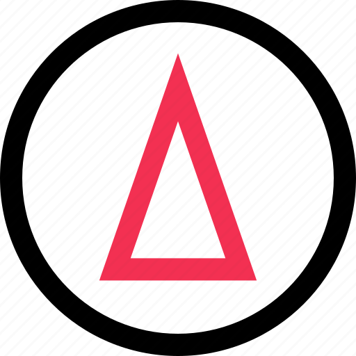 arrow, design, graphic, up icon