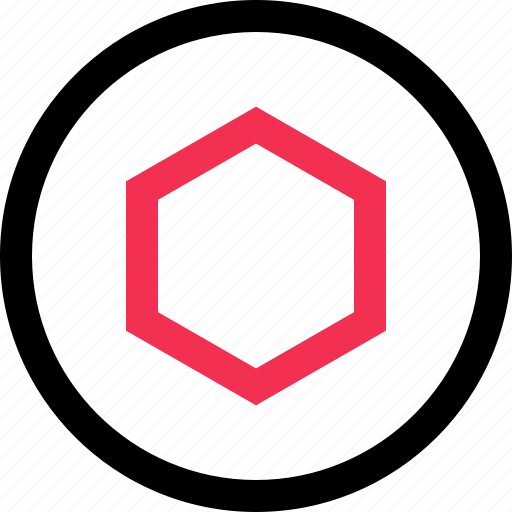 abstract, design, hex, hexagon icon