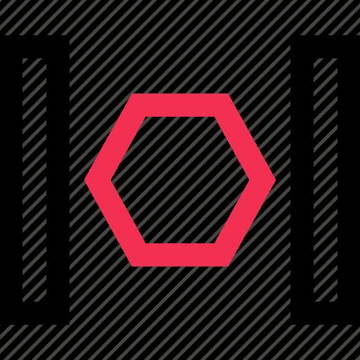 hex, hexagons, space icon